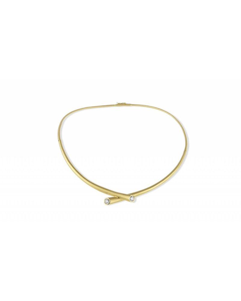 Carelle Whirl Diamond Necklace