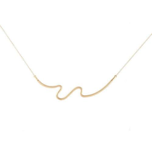 Carelle Brushstroke Number 61 Necklace