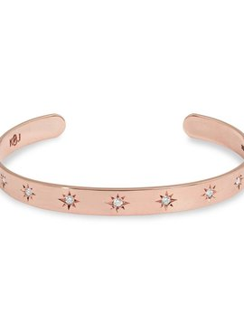 Katherin and Josephine Rose Gold Starset Cuff