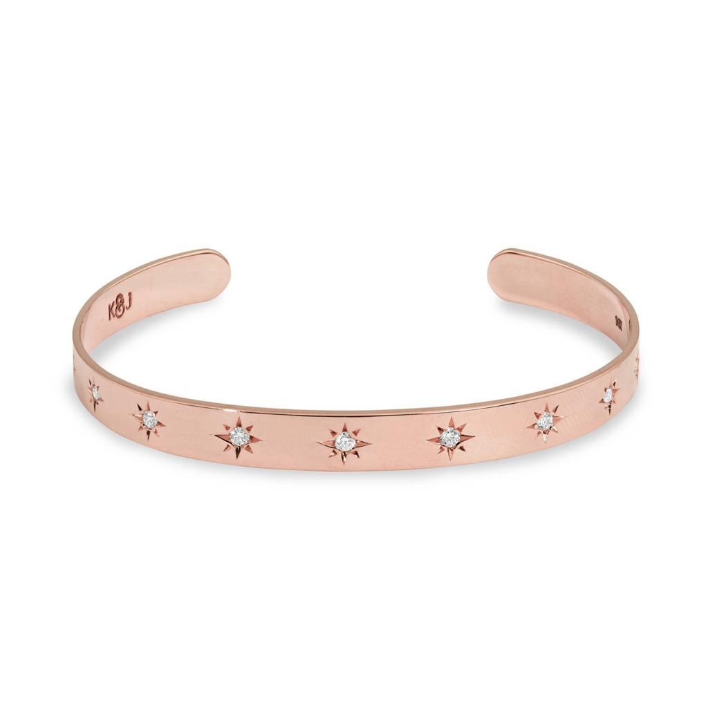 Rose Gold Starset Cuff
