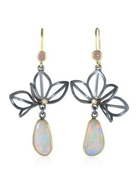 Fire & Forge Karin Jacobson Folded Lotus Earrings