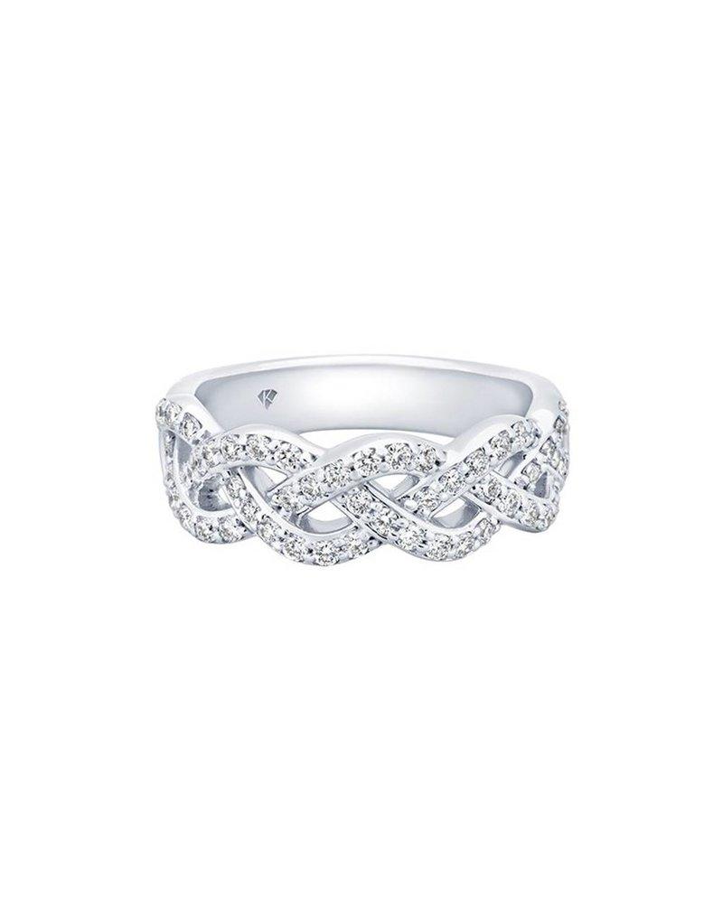 Kimberly Diamond Company Diamond Braid Band