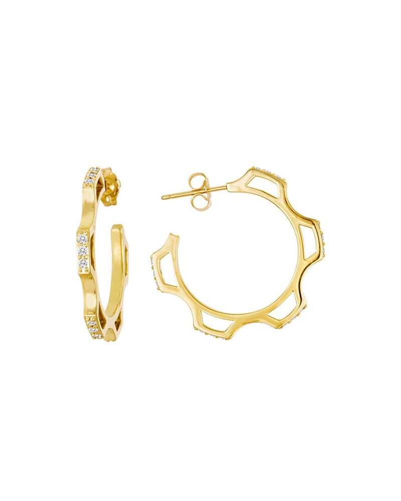 Amy Glaswand Gear Hoops