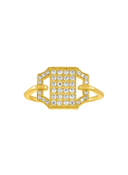 Amy Glaswand Edge Pave Ring