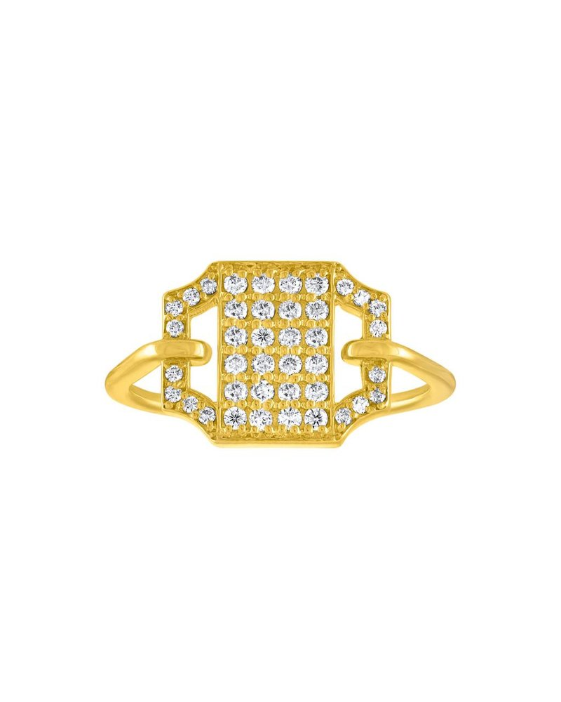 Amy Glaswand Edge Pave Ring