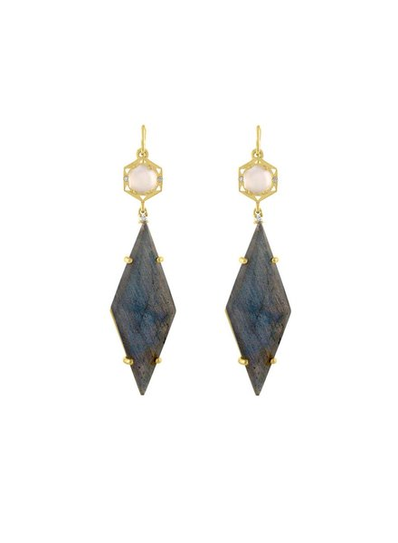 Amy Glaswand Stretto Geo Earrings