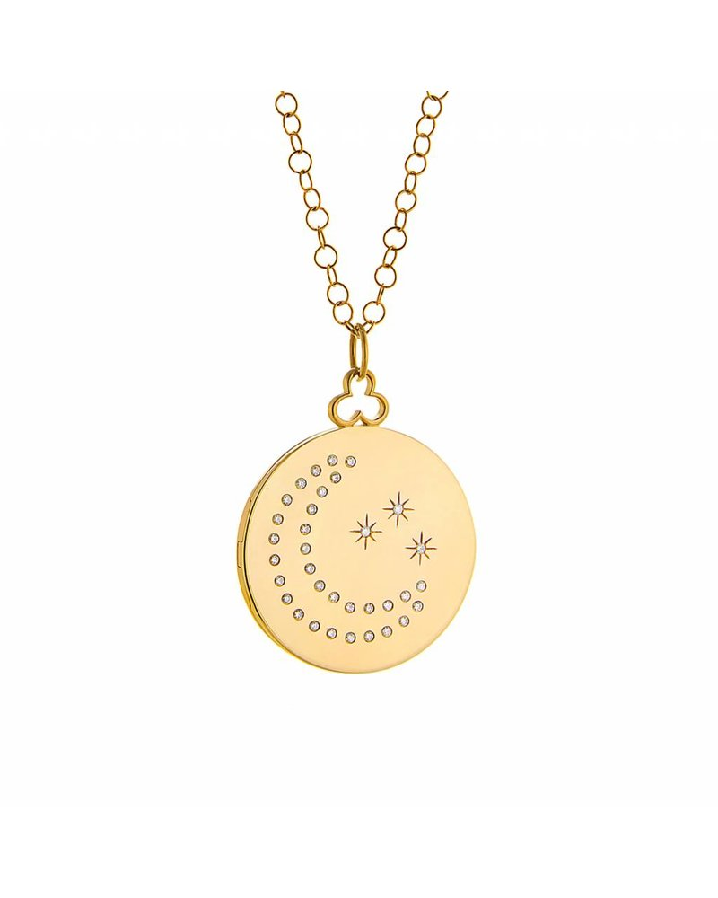 Devon Woodhill Moon & Stars Locket
