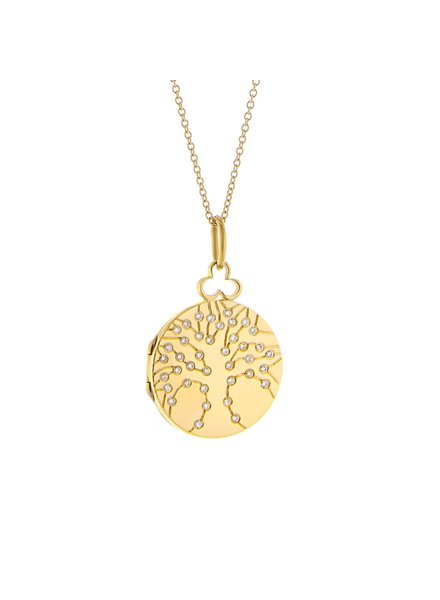 Devon Woodhill Tree of Life Locket