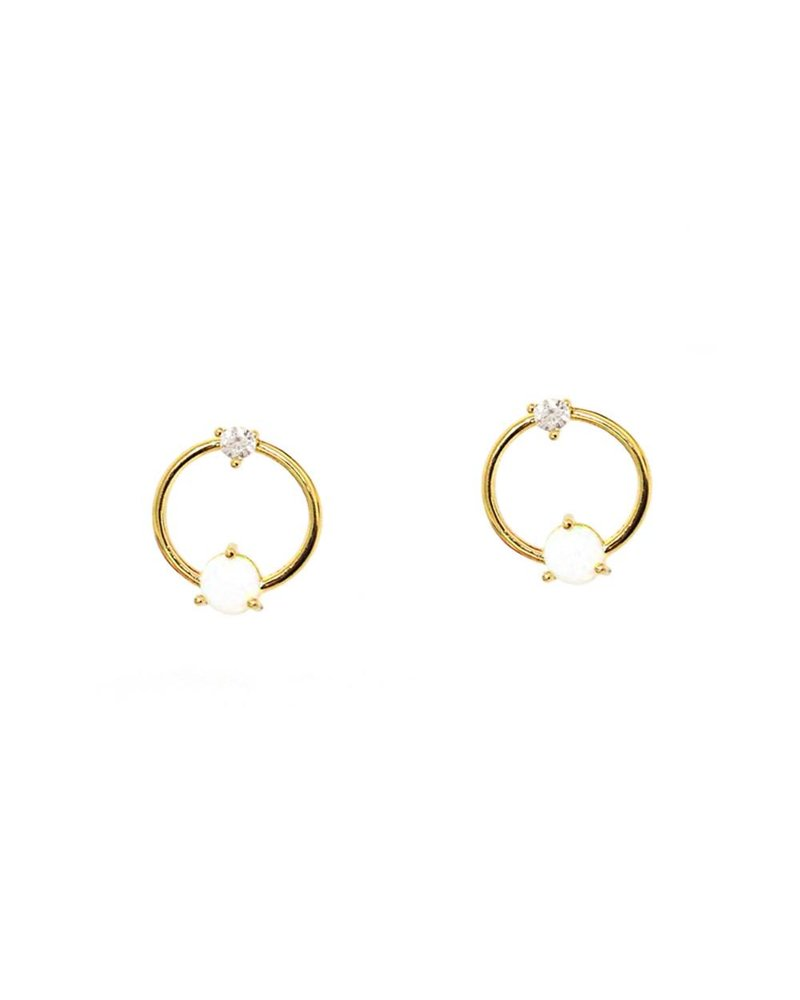 Tai Open Circle Earring