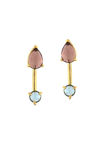 Tai Gold Stick Earrings