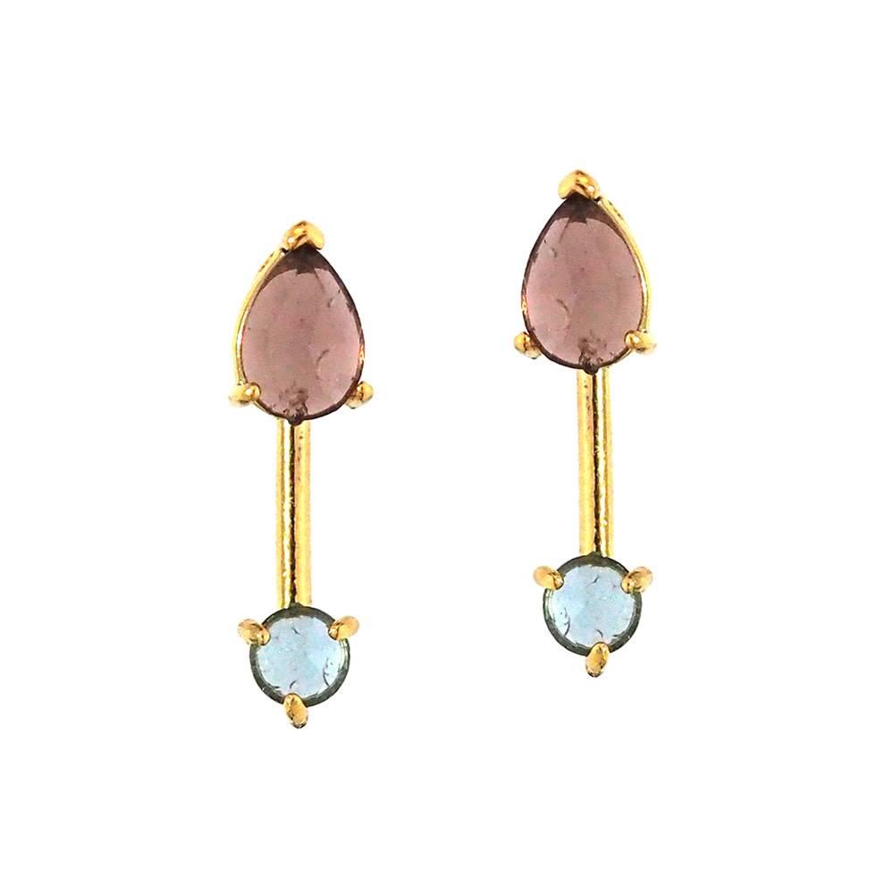 Tai Gold Stick Earrings