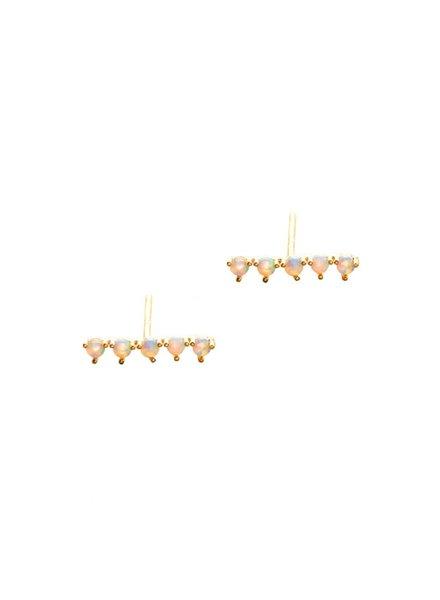 Tai Rail Road Post Earrings