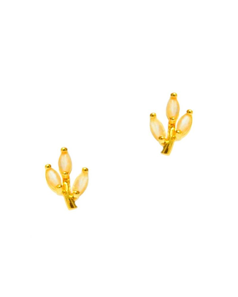 Tai Flower Ear Climbers