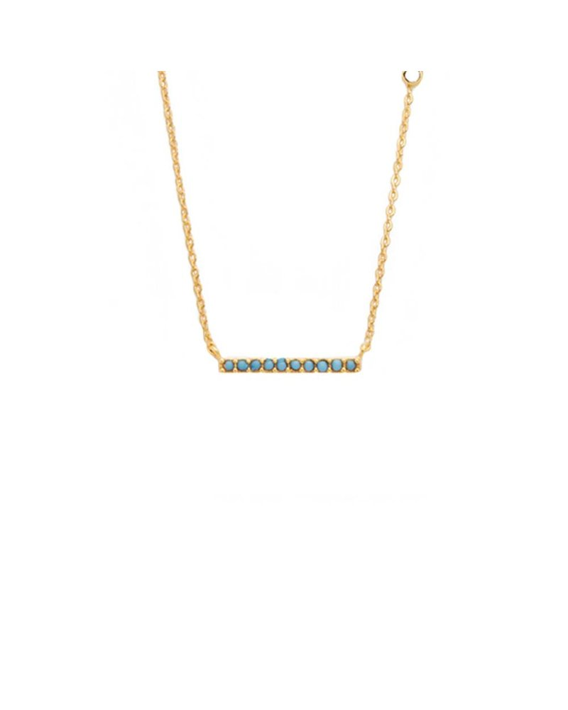 Tai Turquise Stick Necklace