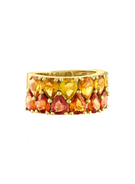 Jane Kaye Double Pear Band Ring