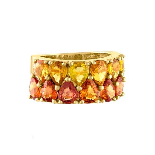 Jane Kaye Double Pear Band Ring