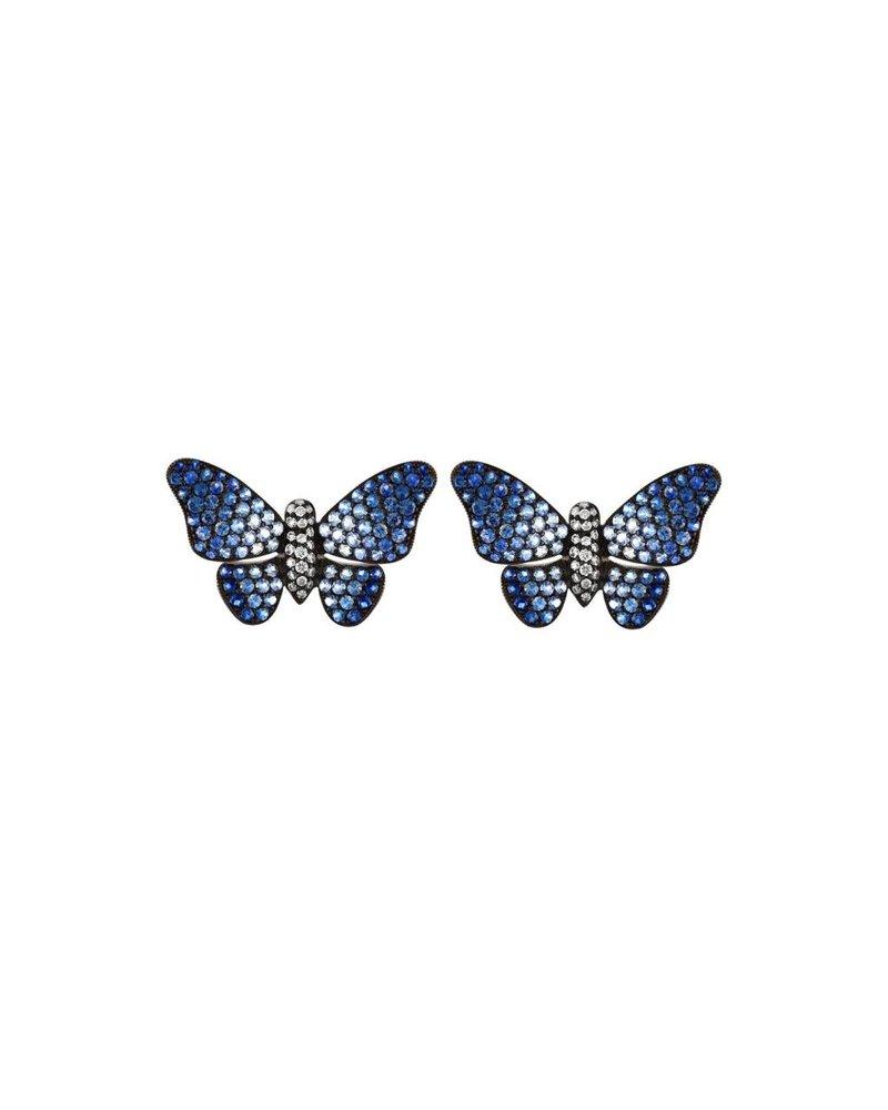 Jane Kaye Ombre Butterfly Earrings