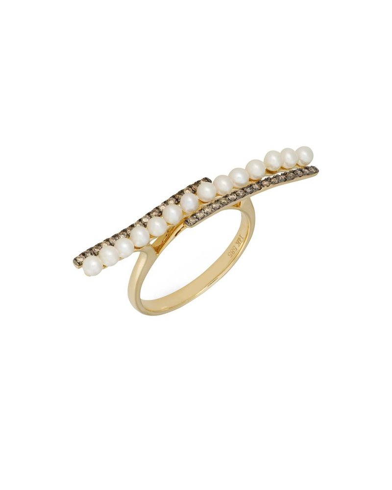 Jane Kaye Pearl Band Ring