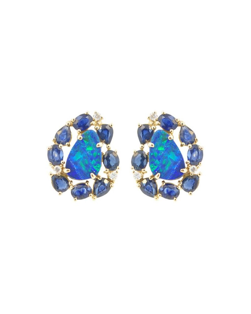 Jane Kaye Blue Sapphire Studs