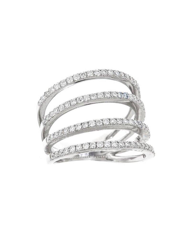 Jane Kaye Four Row Band Ring