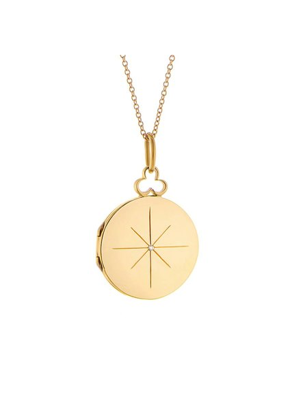Devon Woodhill North Star Locket