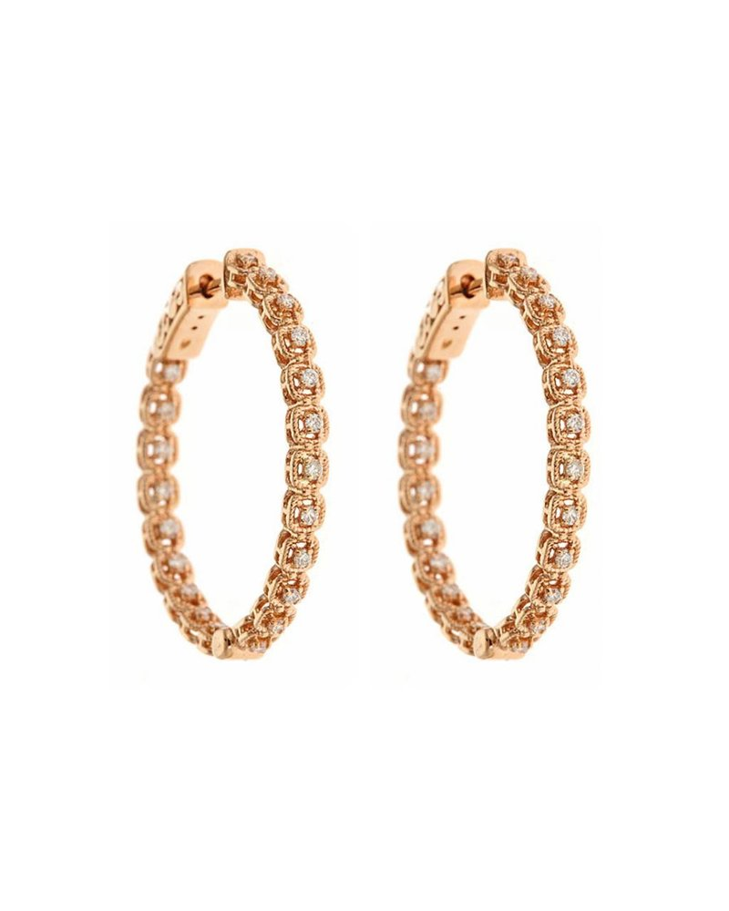 Jane Kaye Small Round Hoops