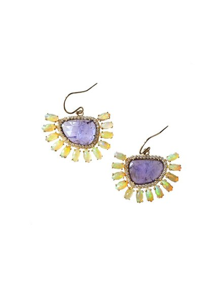 Eva Noga Comet Earrings