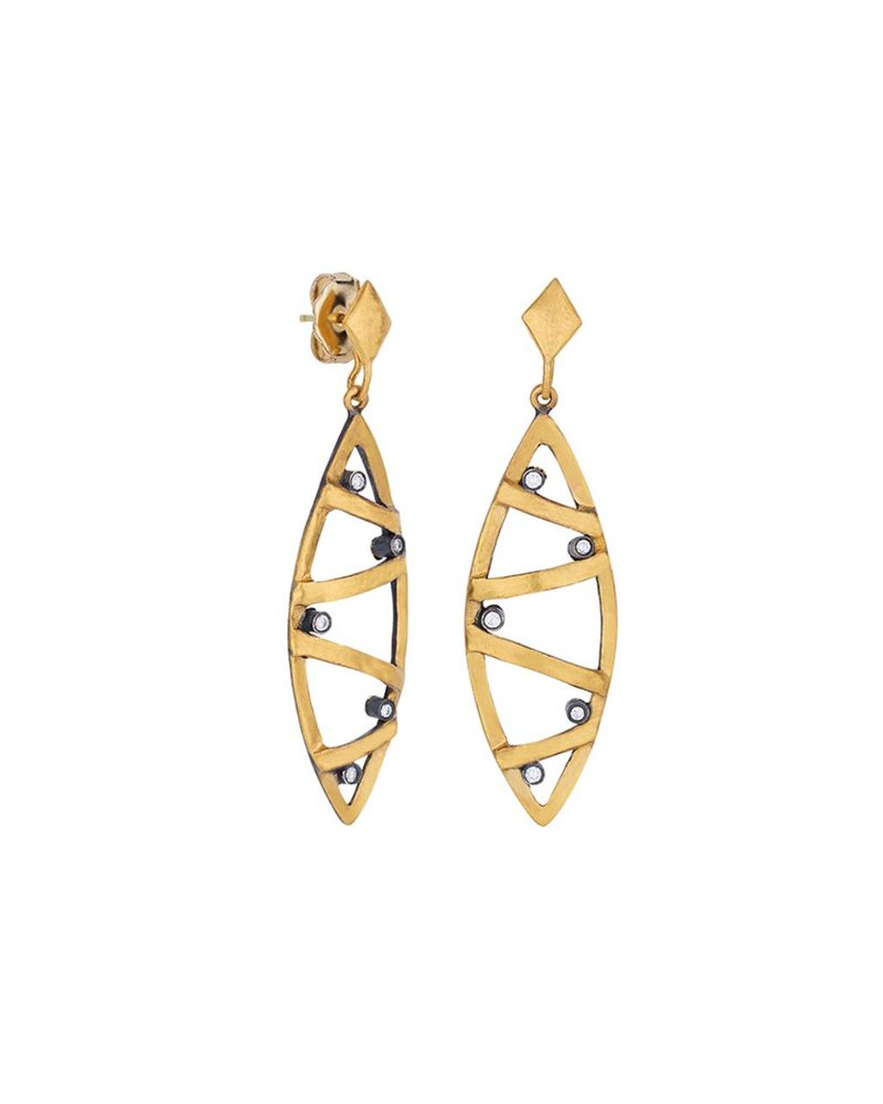 Lika Behar Caged Earring