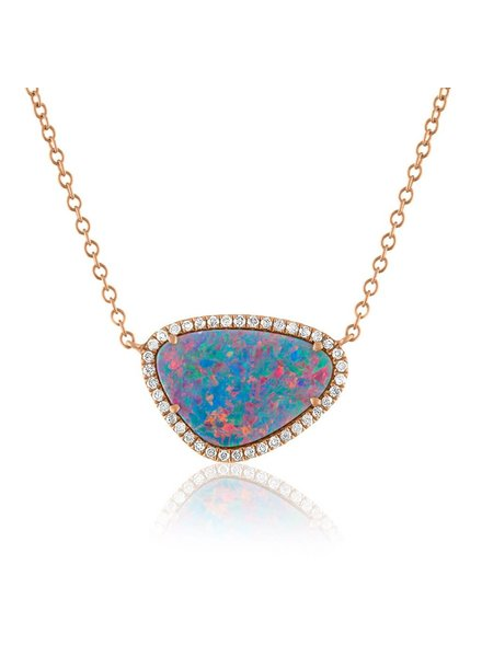 Jane Kaye Organic Opal Necklace