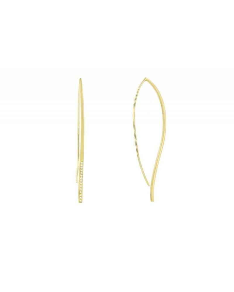 Carelle Athena Minimalist Earrings