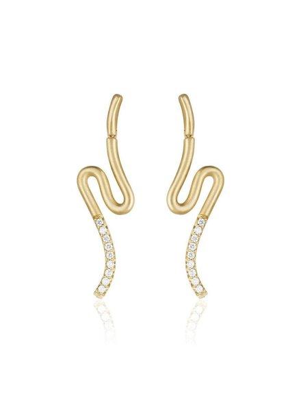 Carelle Brushstroke Number 51 Earrings
