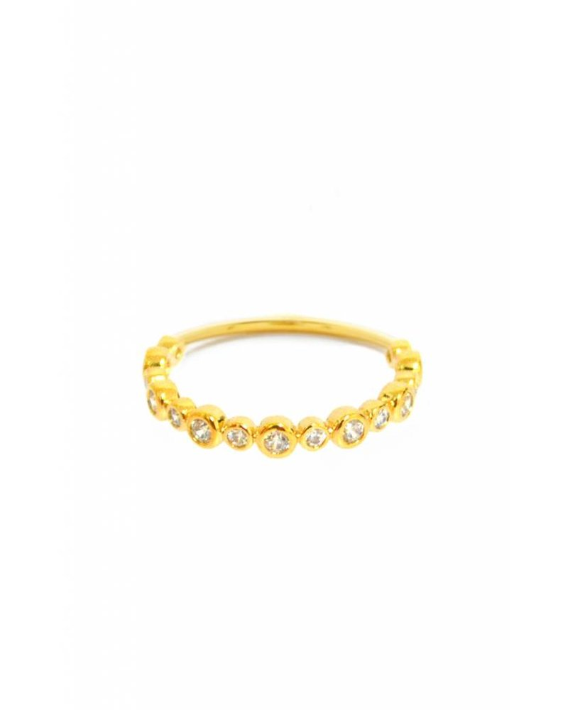Tai Mixed Size CZ Ring