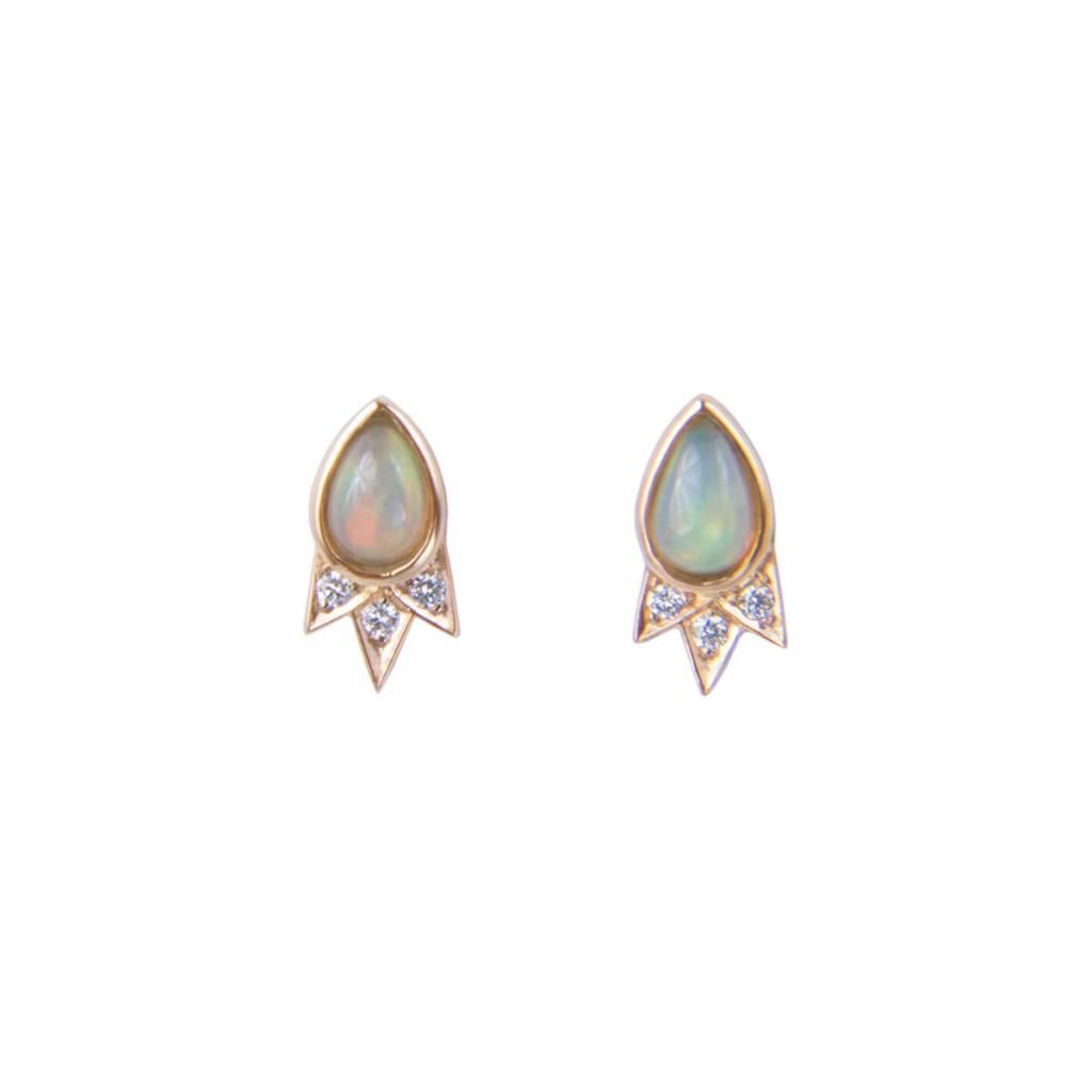 M Spalten Jewelry Starburst Earring