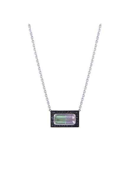 M. Spalten Jewelry Tourmaline Brick Necklace