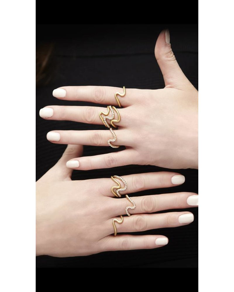 Carelle Brushstroke N 2 Ring