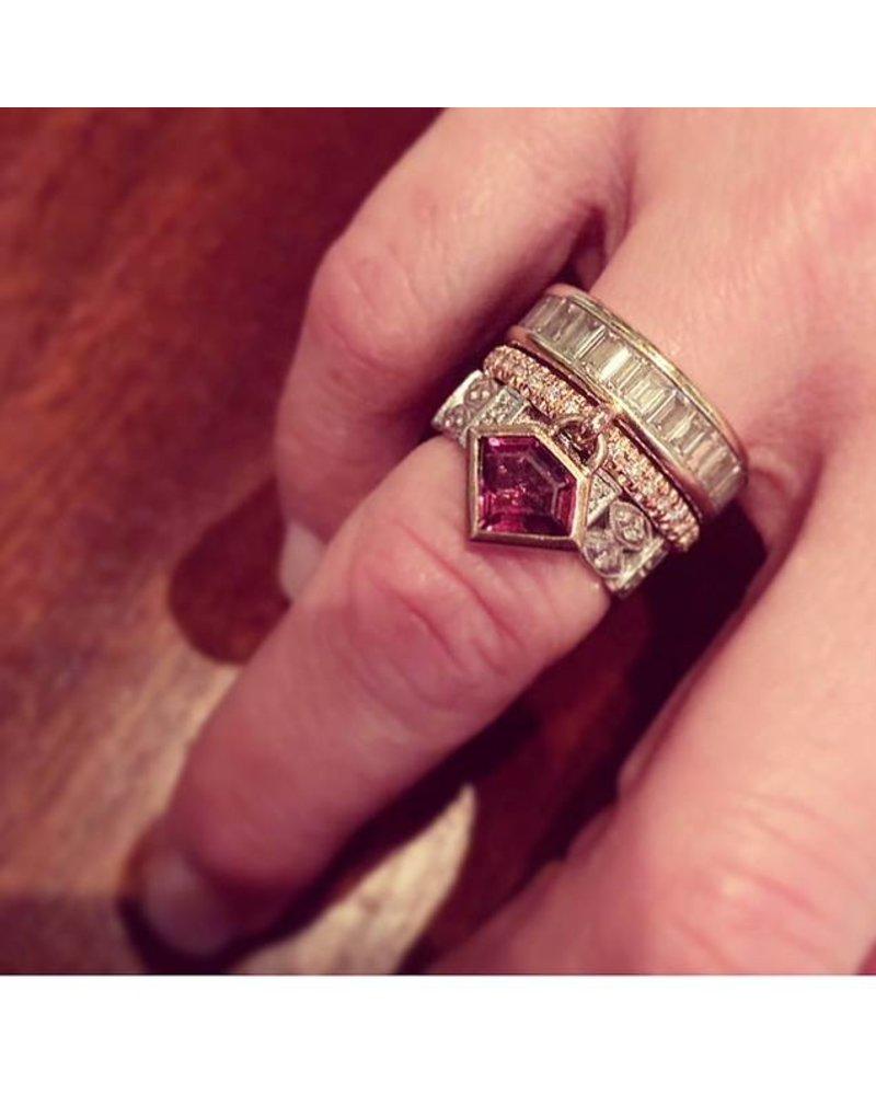 Julie Lamb Diamond Power Charm Ring
