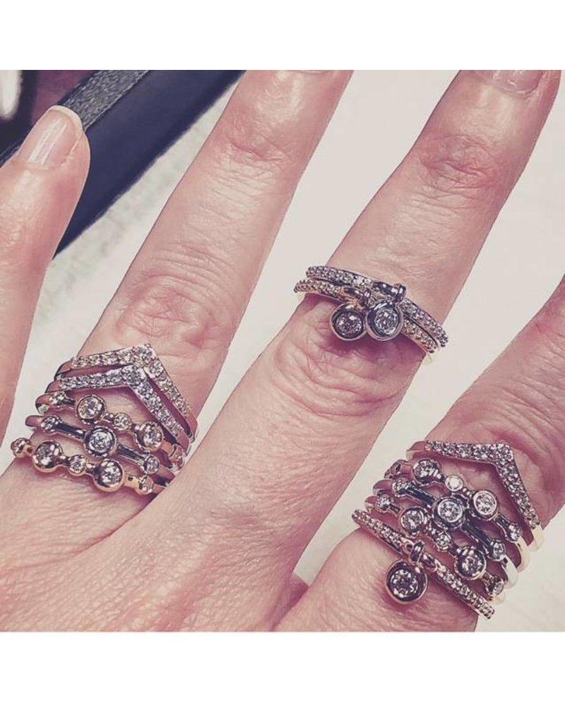 Julie Lamb Lia Chevron Ring