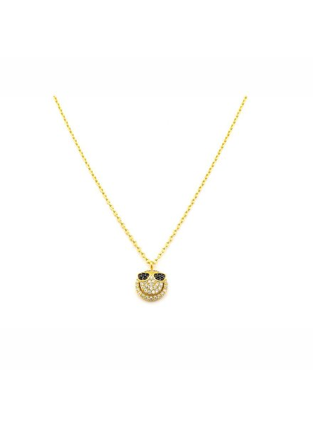 Yellow Gold Emjoi Necklace