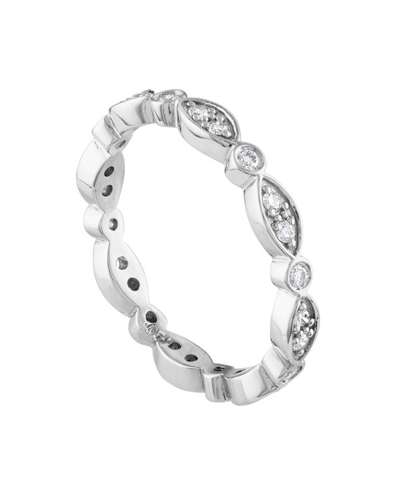 Illusion Marquee Eternity Band