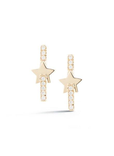 Livi Gold Star Earrings