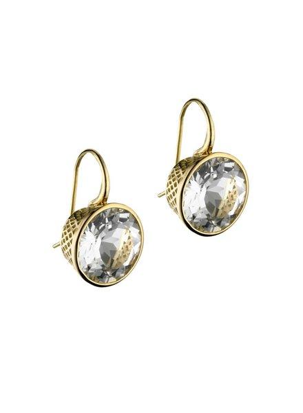 Gold Crownwork Earrings
