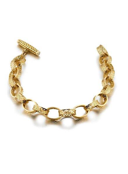 Classic Crownwork Link Bracelet