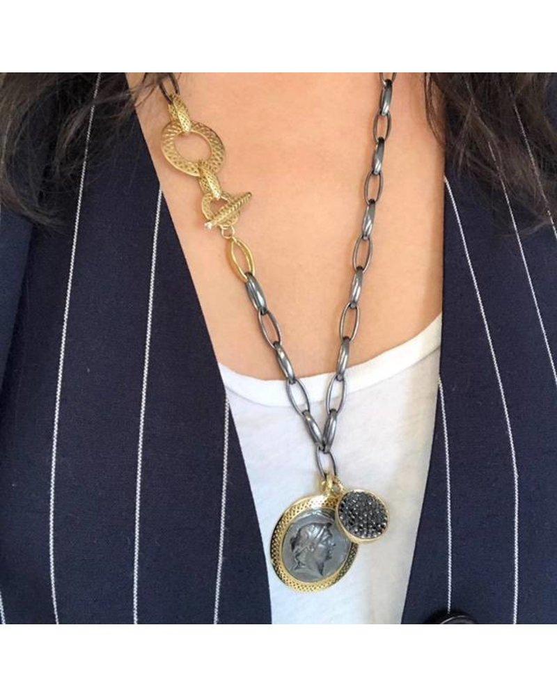 Crownwork Link Necklace