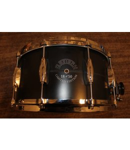 Gretsch Gretsch 7x14 in Limited Edition 18 of 50 Black Aluminum Snare Drum w/Dial Throwoff