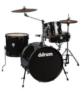 DDrum ddrum D2 4pc Rock Drum Kit Black Sparkle