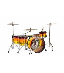 Ludwig Ludwig Vistalite Tequila Sunrise 4pc Shell Pack