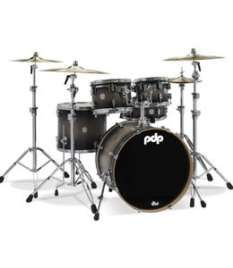 PDP PDP Concept Maple Satin Charcoal Burst 5pc Shell Pack