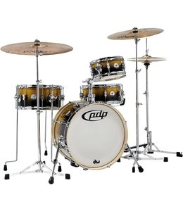 PDP PDP Daru Jones Drum Kit w/Bags & 6000 Hardware, Yellow-Black