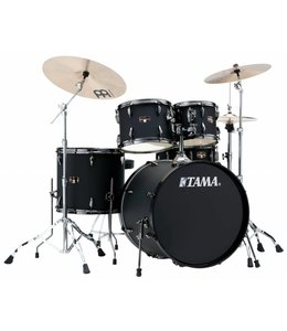 Tama Tama Imperialstar 5pc Matte Black Drum Kit w/ Black Nickel Hardware