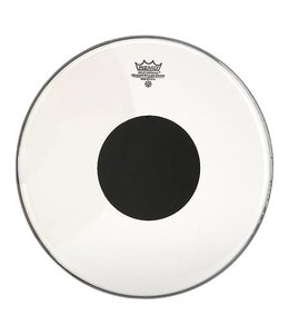 Remo Remo Batter Clear Controlled Sound Drumhead w/ Top Black Dot